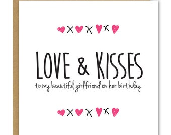 Birthday Cards Girlfriend