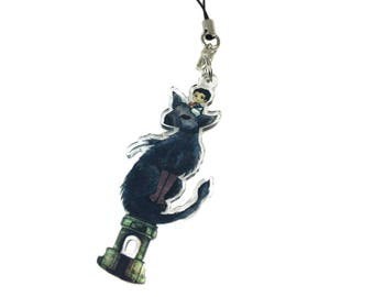 The Last Guardian - Character Charm - Acrylic Phone Charm - Gamer Gift - Geek Gift - Video Game Keychain - Trico - Clear Acrylic Charm