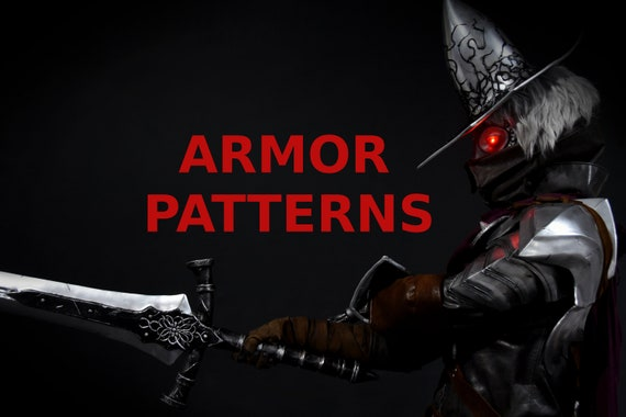 Abyss Watcher Patterns Full Armor And Helmet Printable Pdf With Tutorial Diy Cosplay Costume Dark Souls 3 Farron S Undead Legion