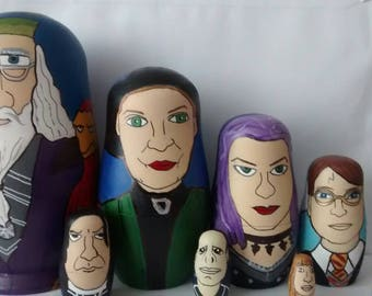 Russian doll set Harry potter
