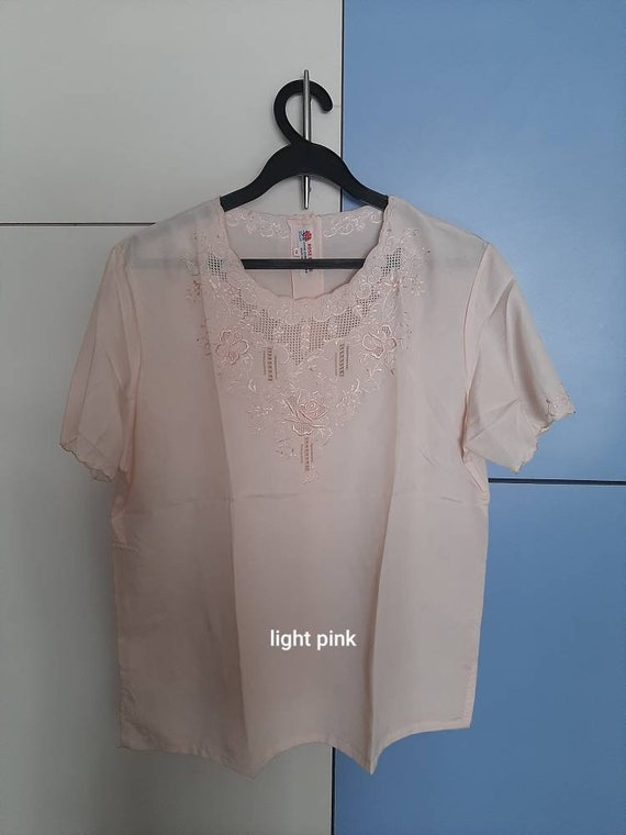 Vintage handembriodery Chinese blouses