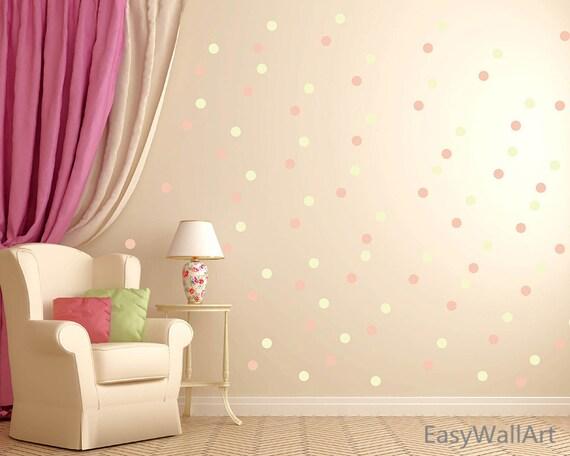 Polka Dot Wall Decal Polka Dot Decal Wall Decor Polka Dot   Etsy