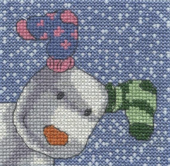 DMC Mischief 14 Count Cross Stitch Kit Multi Colour Fabric