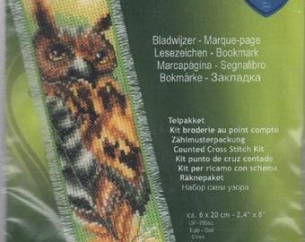 Vervaco Owl Bookmark Cross Stitch Kit