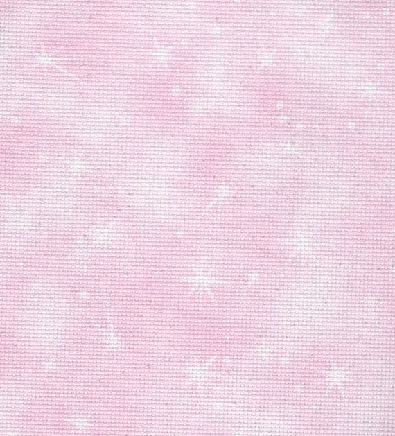 Fabric Flair Cloud Pink 14 count Aida approx 45 x 50cm
