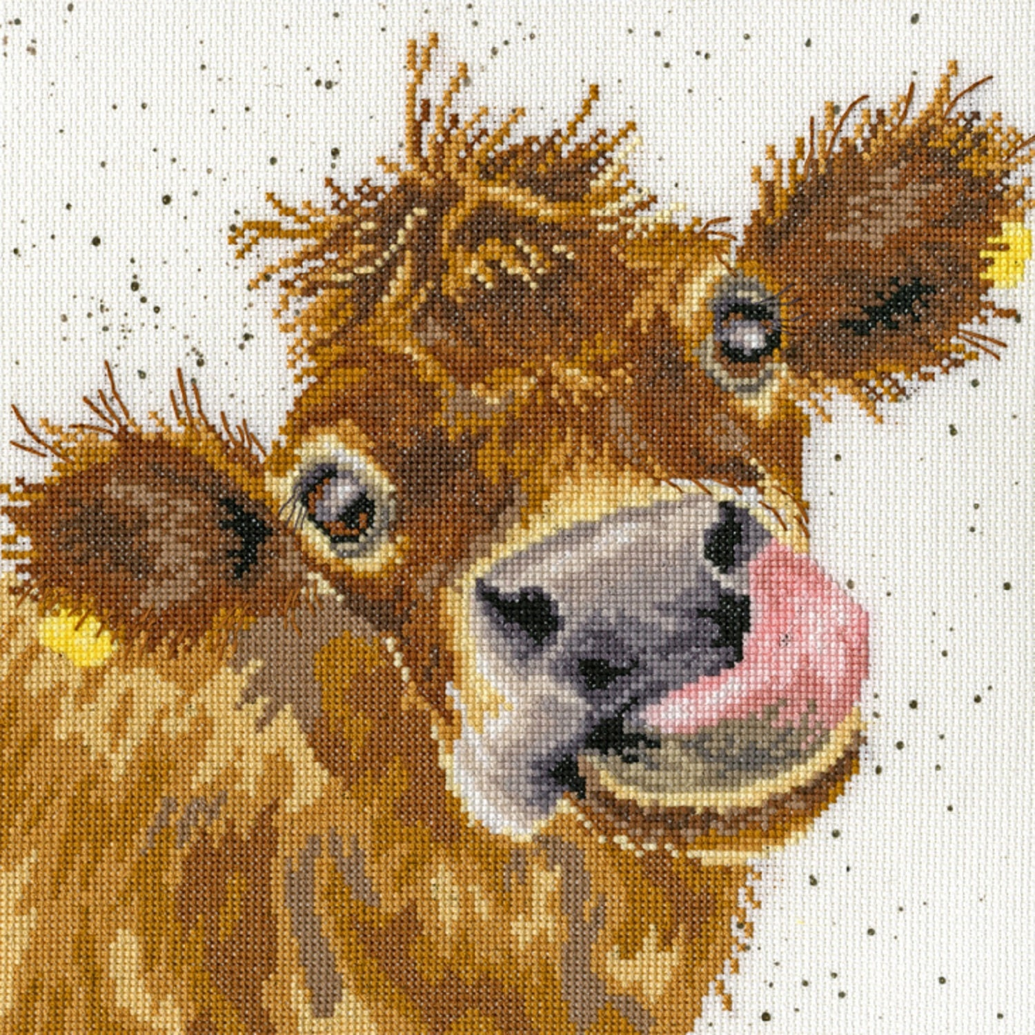 Bothy Threads Counted Cross Stitch Kit by Wrendale Designs by Bothy Threads Jolly Robin