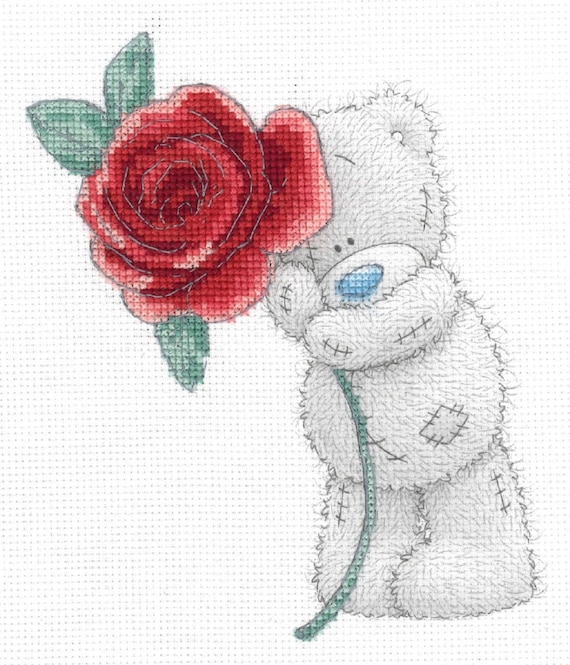 Me To You Tatty Teddy ..Necklace . red and white hat..