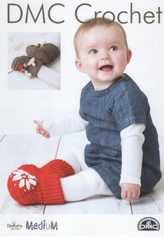 DMC 15405L/2 patrón de ganchillo de patucos bebé festivos   Etsy