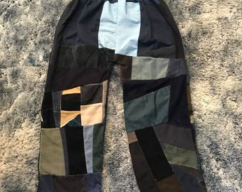 Handmade Patchwork Pants