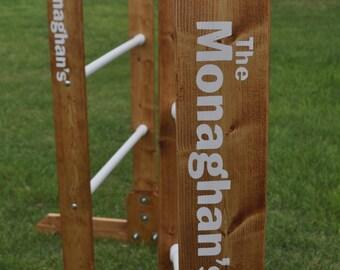 CUSTOM IMPRINTED Ladder Golf (Red-Neck Golf)