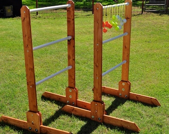 Ladder Toss-Red Neck Golf Double Tournament Deluxe Game Set - Without Bolas