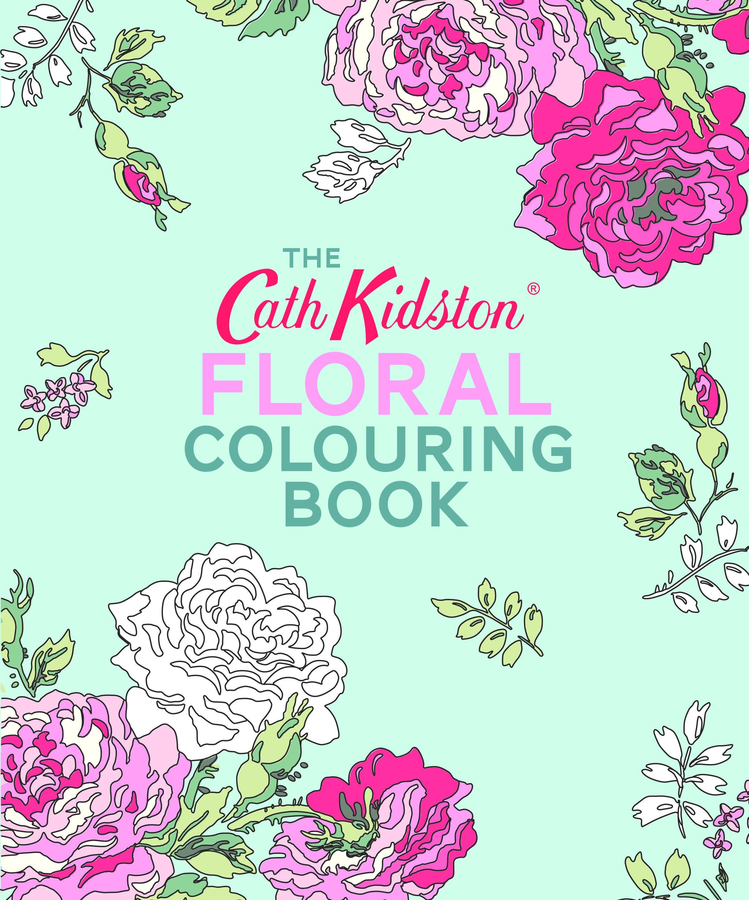Cath Kidston Floral Malbuch für Erwachsene Achtsamkeit für   Etsy