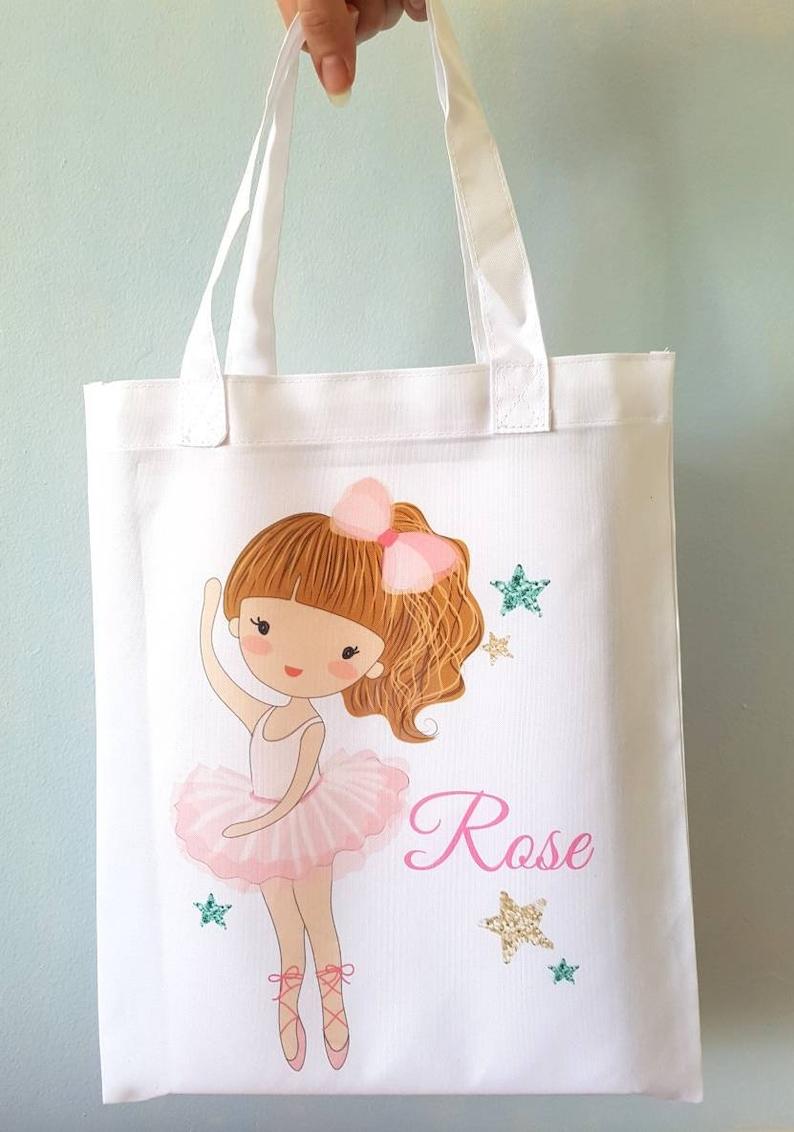 Ballet bag ballet gift dance bag tote bag gym bag school bag  a4866a7743bde