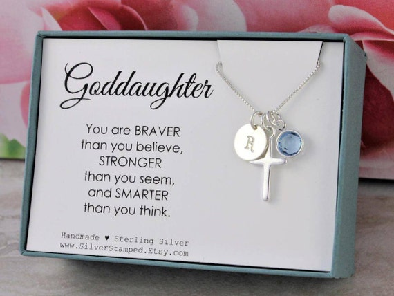 Easter gift for goddaughter gift necklace sterling silver negle Gallery