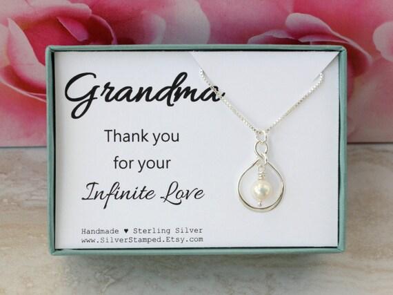 Gift For Grandma Birthday From Granddaughter Sterling