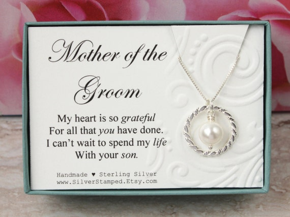 Mother Of The Groom Gift: Gift For Mother Of The Groom Gift From Bride Sterling