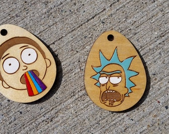 Rick and Morty Keychains