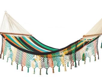 Bar Hammock Papagayo hand-woven and made of cotton