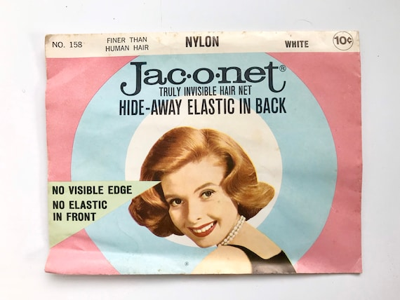 Jac o net Vintage Hair Net, Jaconet truly invisibl
