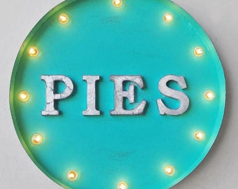 Round Marquee Signs