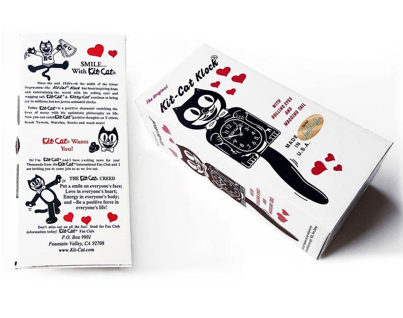 Édition limitée! Kit officiel ORANGE citrouille chat horloge-Lady Girl femelle-parée de cristaux Swarovski Kit Kat Cat horloge Klock