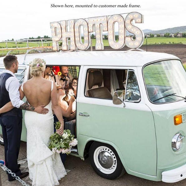 On Sale! 21 PHOTOS Metal Sign - Photobooth Photo Booth
