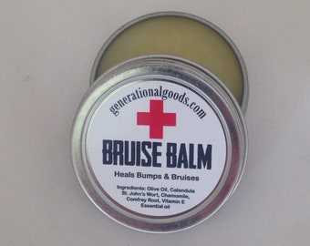 Bruise Balm for Bumps and Boo Boos Herbal First Aid