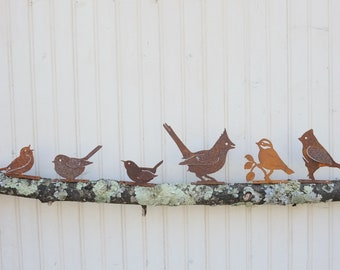 Rustic Iron Birds Choose from 17 Different Feathered Friends