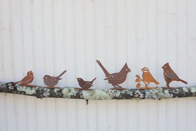 Rustic Iron Birds Choose from 17 Different Feathered Friends image 0