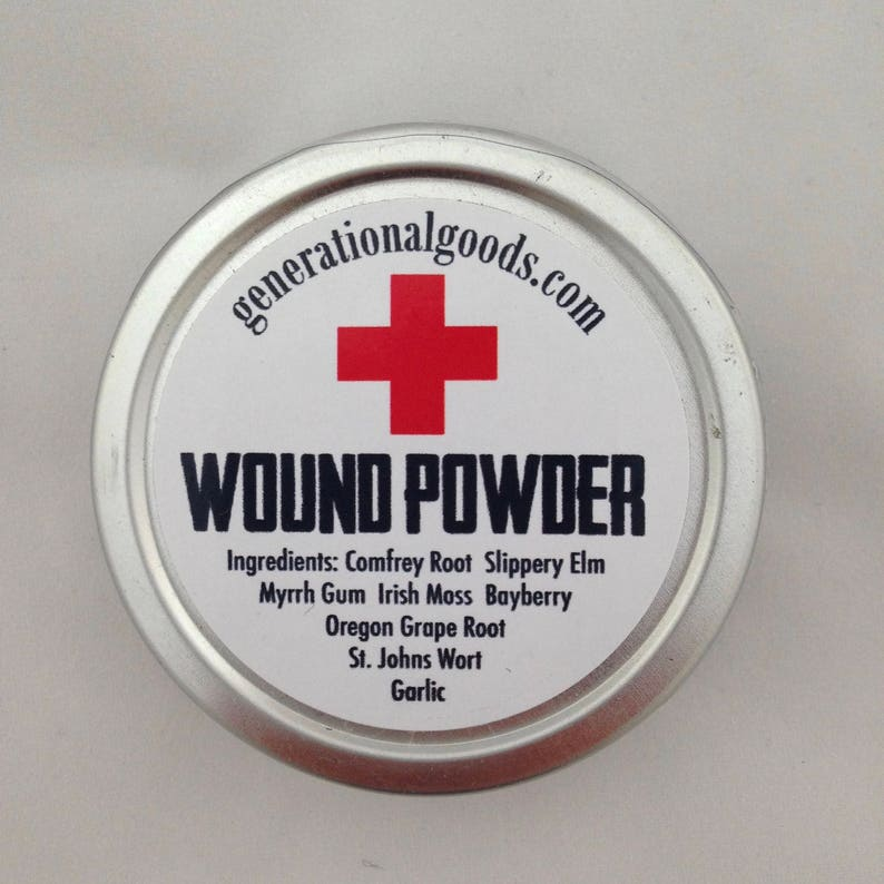 Herbal Wound Powder Natural First Aid for the Family Travel image 0