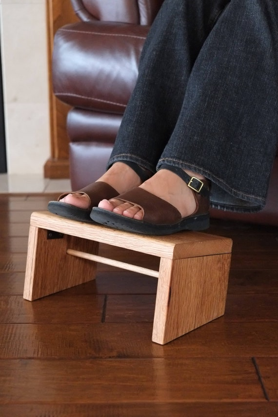 Excellent Collapsable Foot Rest Foldable Foot Stool Folding Legs Poplar Oak Wood Ocoug Best Dining Table And Chair Ideas Images Ocougorg