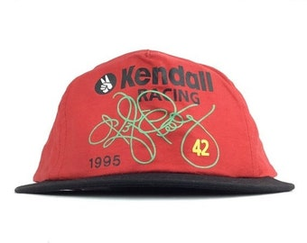 984d0079271 On Sale Now Vintage 90s NWOT Kendall Racing Kyle Petty 42 Racing Baseball Cap  Hat SnapBack Adult Size NASCAR