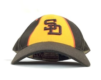 13eaf7a980b On Sale Now Vintage 90s MLB San Diego Padres Cooperstown Collection  American Needle Baseball Cap Hat Fitted Size 7 3 8 -- Needs Cleaning --