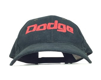 DODGE MOTORSPORTS Baseball Hat Cap Officially Licensed Chrysler Merchandise