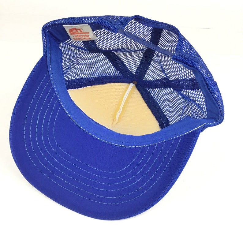 Vintage 80s TEN FOUR 10-4 Communications Trucker Hat Cap Snapback Men\u2019s Medium Size Polyester