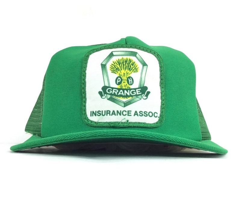 ff64532acd9d7 Vintage 90s Grange Insurance Association Assn Front Patch Logo