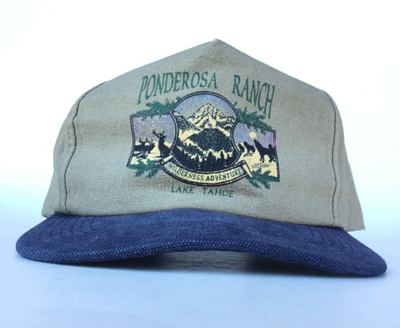 5215c1fe7bf Vintage 90s Ponderosa Ranch Lake Tahoe Wilderness Adventure