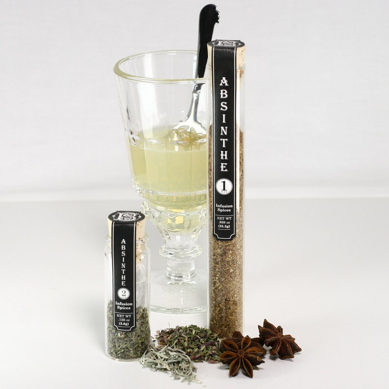 Birthday Gift for Him  Absinthe Alcohol Infusion Spices With image 0