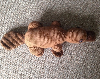 Crochet Platypus