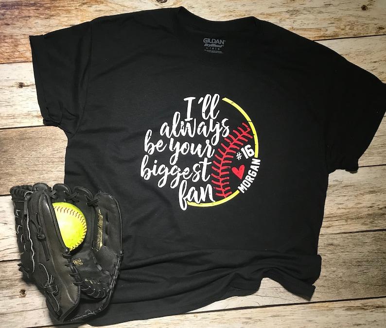 9c2a582e22b3 Softball Mom Shirt / Cute Mom Shirt / Custom Softball Gift /   Etsy