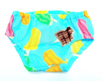 SALE!! Summer Popsicle Diaper Cover - LAST ONE! Baby Bloomers Girl or Boy