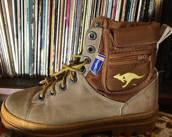36aadaffb939 Vintage KangaROOS Boots Size 8 women s.