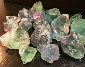 fluorite crystal etsy