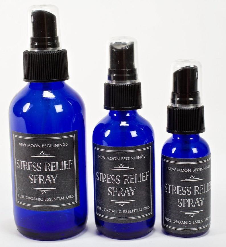 Stress Relief Spray  Citrius and Lavender Essential Oils  image 0