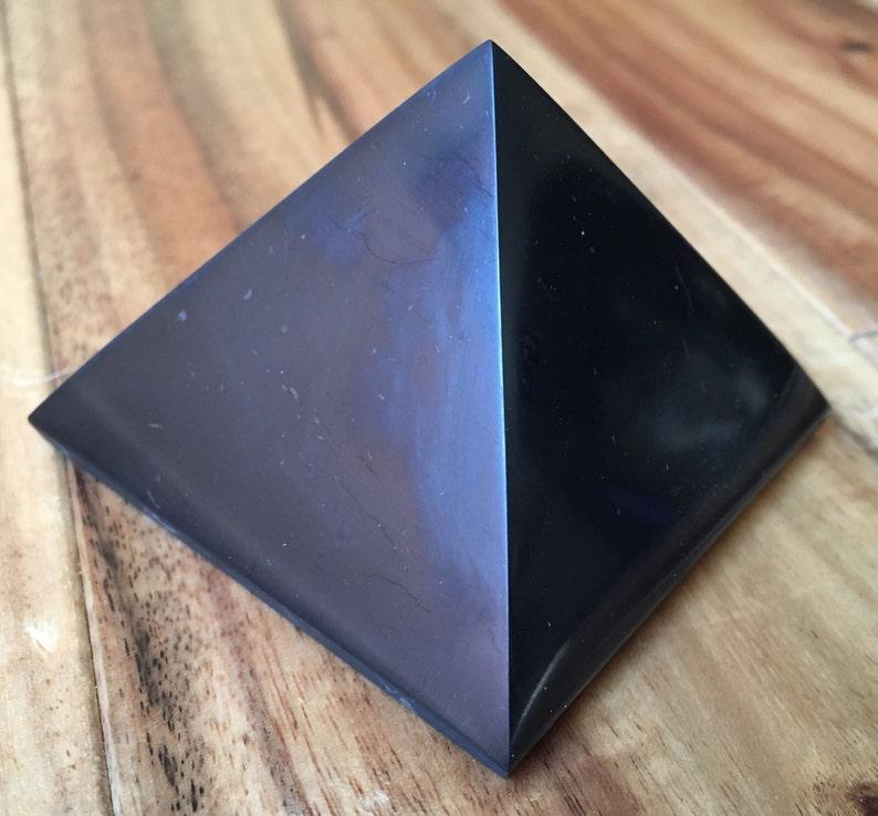 Shungite Pyramid - raw shungite stone - emf protection - healing crystals  and stones - shungite crystal - root chakra stones - crystals