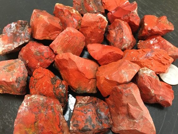 Brecciated Jasper Red Jasper Stone Healing Crystals And Etsy