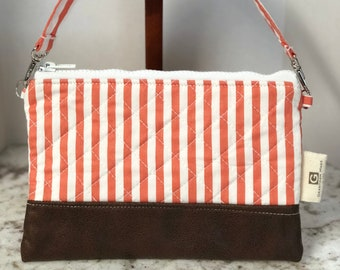 Girls purse Toddler purse Quilted purse Small purse striped purse large wristlet cellphone purse makeup bag Girl purse handbag iPhone 8+ X