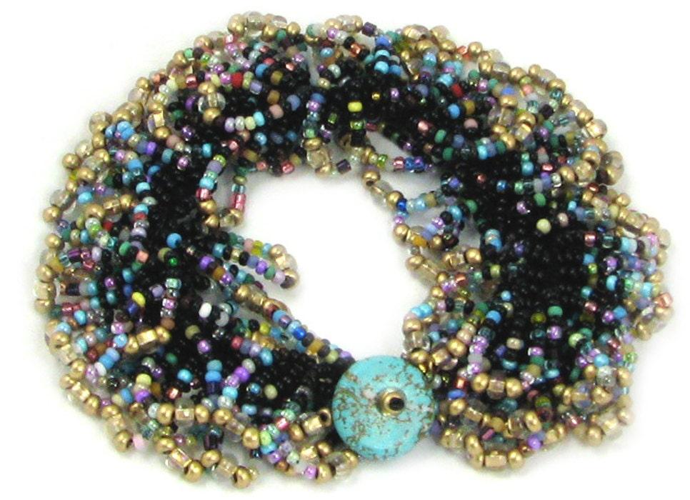 Carnivale Bead Crochet Instant Download Pattern Simple Beaded Etsy