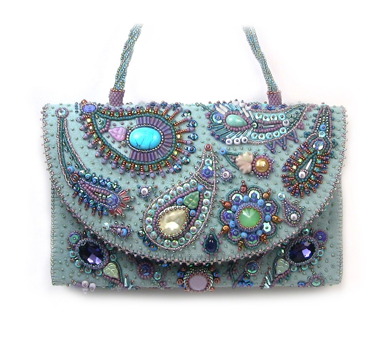 Andromeda Bead Embroidery Purse Kit by Ann Benson image 0