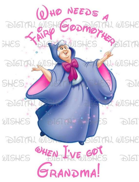 Who Needs A Fairy Godmother When I've Got Grandma Image